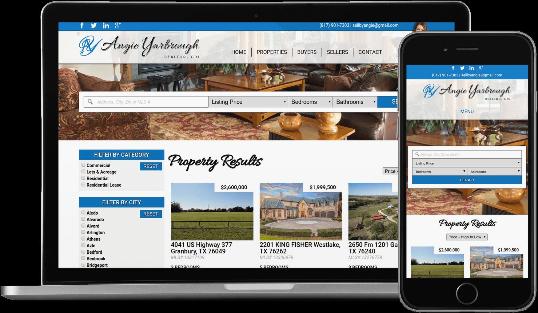 Custom Real Estate Websites | Gridlevel: Custom Web Design